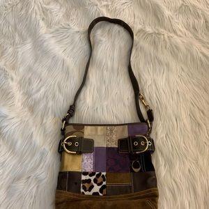 Handbags - Coach Patchwork Crossbody